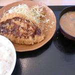 かつや - 料理写真:朝ロースカツ定食