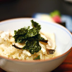 山玄茶 - 松茸と鯛の炊き込みご飯