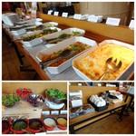 on A TABLE - ◆前菜buffetの種類が豊富で美味しそう~