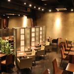 Cafe Miyama - 禁煙席