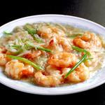 中国料理 慶福楼 - 小海老とカニ肉炒め