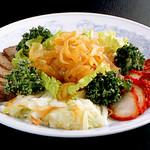 中国料理 慶福楼 - 五目冷菜の盛り合わせ