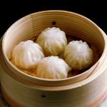 中国料理 慶福楼 - 肉と海老の薄皮包み蒸し