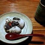 田楽 - デザート 黒ごまアイス