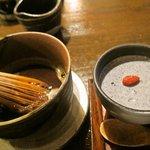 7355801 - 純黒胡麻プリン+玄米コーヒー