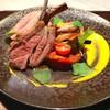 仔羊背肉の燻製ロースト その『Jus(肉汁)』のソースで