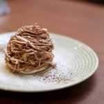 タイムピース カフェ - モンブラン(秋期限定)