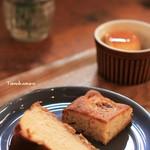 ブラフテラス - 料理写真:チーズケーキ・バナナケーキ・プリン