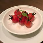 ラポール - プチトマトの杏子シロップ漬け
