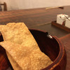 手打ち蕎麦 仙太郎 - 料理写真:そば煎餅を最初にお出しいただきます