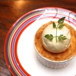 タイムピース カフェ - ラフランスのパイスフレ