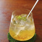 タイムピース カフェ - はちゆずジンジャー(お酒)