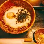 そばきり五山 - 料理写真:とろろそば(1100円)わさびは、本わさび