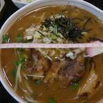 73554773 - 味噌ラーメン650円 丼の直径19cm