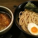 つぼや - 【特濃つけ麺(並) + 味玉】¥780 + ¥100