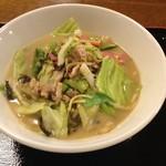 ゆの華亭 - 料理写真:ちゃんぽん