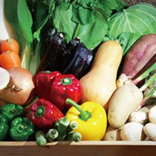 地元の有機野菜など『素材』にこだわった創作フレンチを。