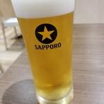 いきなり!ステーキ - ドリンク写真:生ビール 540円