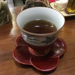 安曇野 - 冷えたお茶がうれしい