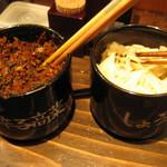 博多一双 中洲店 - 辛子高菜 生姜