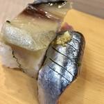 福ずし - バッテラ & 秋刀魚