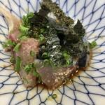 福ずし - ゴマ鯖   ネットリとして美味い♪ 甘い醤油が相性バッチリ♪