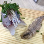 福ずし - シャコの刺身