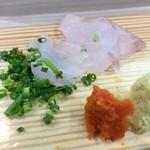 福ずし - 地魚刺身盛合せ@2480円