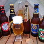 プラスアルファキッチン - 生は勿論、オーストラリアの瓶ビールも!