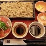 大戸屋 - マグロごはんと蕎麦の定食
