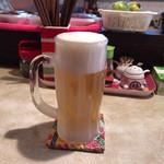 山羊料理 美咲 - 2017年09月19日  生ビール(オリオンビール)