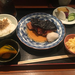 一楽 - 銀鱈御膳(1300円)