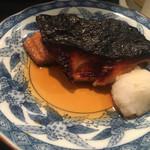 一楽 - 甘辛いタレで仕上げた銀鱈は絶品