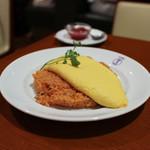 日本橋 三代目 たいめいけん - タンポポオムライス☆