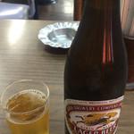 とんかつ 代々木庵 - 瓶ビール 550円