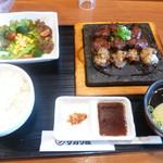 めんどくサガリ屋 - ホルモン・サガリ定食