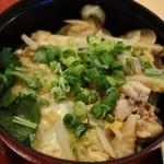 麺処 ひので - ミニ親子丼310円