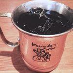 コメダ珈琲店 本店 - 金のアイスコーヒー