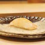 鮨処 有馬 - ☆鮃の昆布締め