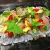 真鯛のフレンチ・カルパッチョ