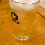 73569319 - ビートル1号(ハイボール+ビール)380円