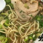 宮っ子ラーメン - 細麺