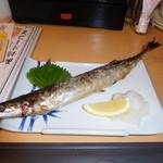 大衆海鮮居酒屋 おっ魚 - さんま塩焼き