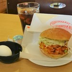 ラ・ロシェル - 料理写真:かき揚げバーガー