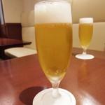 グリル丸の内亭 - セットのグラスビール