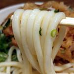 73576911 - 手作り掻揚うどん(麺)
