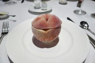 エルミタージュ ドゥ タムラ - 桃の冷たいスープ