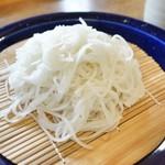 志な乃 - 料理写真:さらしな蕎麦