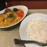 ばんび - 「カントリーカリー」950円トッピング「角煮」300円