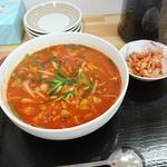 韓国家庭料理 ソナム -                                 辛いラーメン(辛さ3倍)